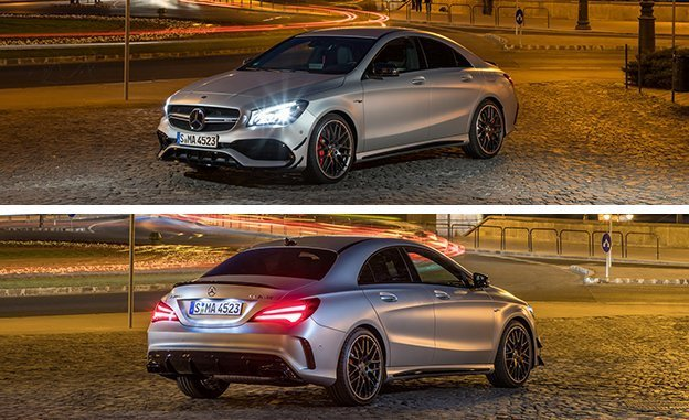 Mercedes-AMG CLA45 4Matic 2018