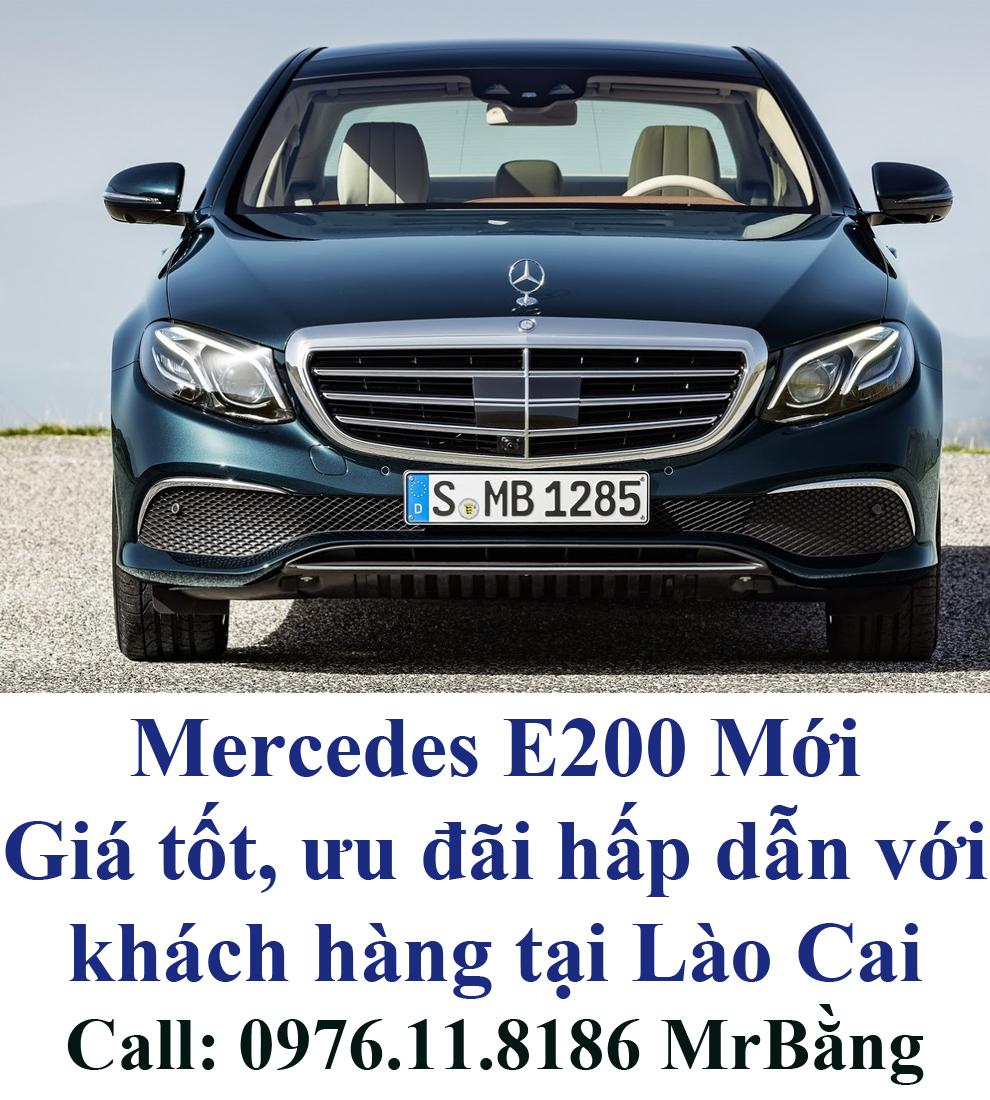 Mercedes E200 khach hang lao cai