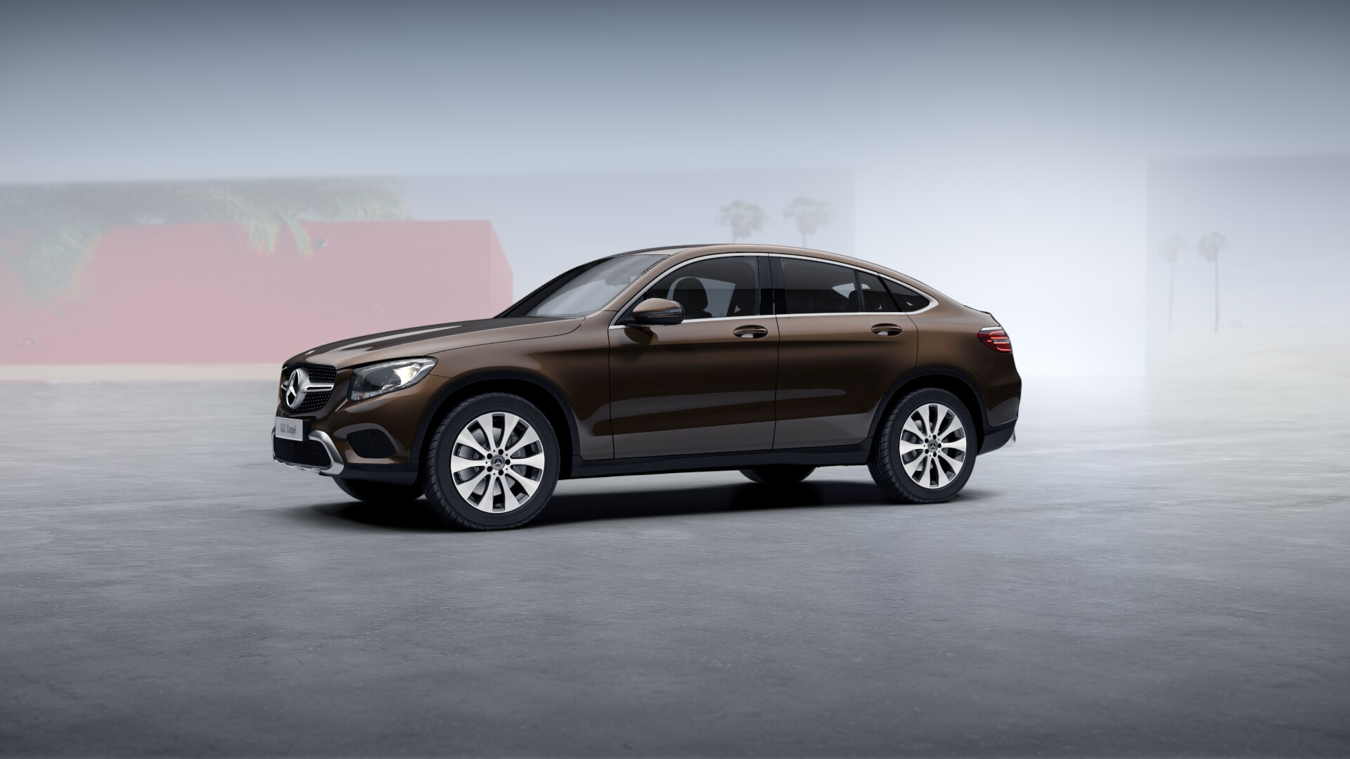 Mercedes GLC 300 Coupe 4Matic 2017 2018 (1)